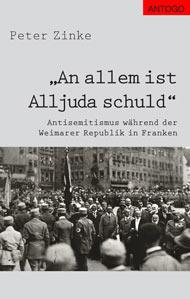 """Titelbild des Buches """"An allem ist Alljuda schuld"""""""