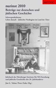 Titelbild des Buches nurinst 2010